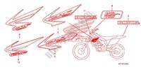 STICKERS (CRF450X'05,'06,'07,'08) for Honda CRF 450 X 2005