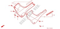 SIDE COVERS for Honda CB 250 HORNET 2003
