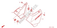 --- COUVERCLE LATERAL (CB400SF4/CB400/S) Frame 400 honda-motorcycle CB 2005 F_16_1