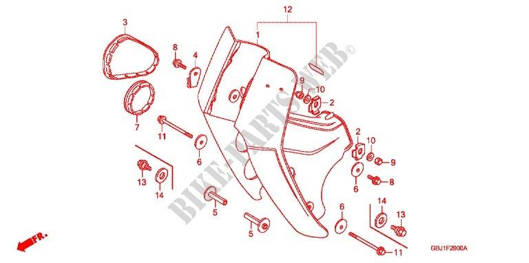 MOTORCYCLE SPEAR INDICATORS FRONT /& REAR MATT BLACK BN