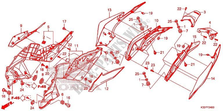 Honda OEM Part 83600-K33-D00