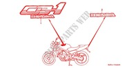 STICKERS for Honda CB 400 F CB1 1989