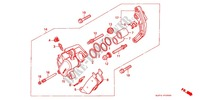 FRONT BRAKE CALIPER for Honda CB 400 F CB1 1990
