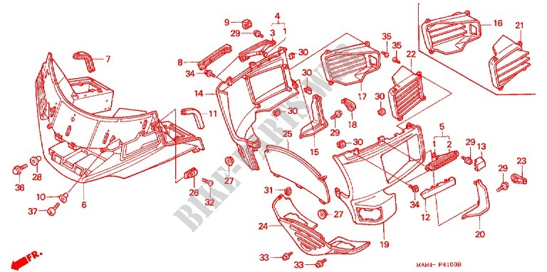 SEAT REAR COWL Frame GL1500AV 1997 GOLD WING 1500 MOTO Honda ... Honda Goldwing Wiring Diagram on honda goldwing powered race car, honda goldwing color codes y140p, honda goldwing clothing, honda goldwing motorcycles, honda goldwing air vent, honda goldwing aspencade, honda vt700 wiring diagrams, honda goldwing gl1500, honda shadow wiring diagrams,