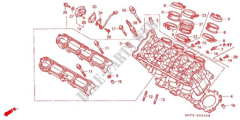 Full Gasket Set 1100 CC Honda CBR 1100 XX-V 1997