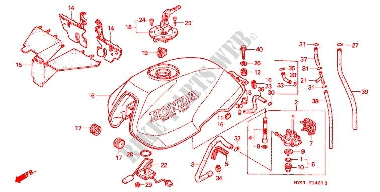 Nc29 Wiring Diagram : Honda cb four wiring diagram the best