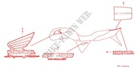 MARQUE (F3V) for Honda CB 400 SUPER FOUR  VERSION S J 1997