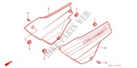 SIDE COVERS (CBX125F) for Honda CBX 125 1992