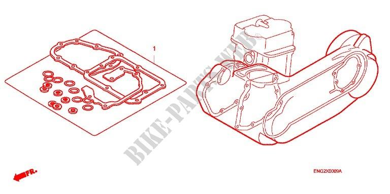 Gasket Kit For Honda Ch 80 Elite 1994   Honda Motorcycles  U0026 Atvs Genuine Spare Parts Catalog