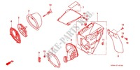 --- FILTRE A AIR ('93-'97) Frame 125 honda-motorcycle CR 1995 F_14_2