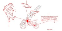 --- MARQUE ('95) Frame 125 honda-motorcycle CR 1995 F_25_2
