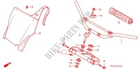 --- TUYAU DE GUIDON/PONT SUPERIEUR (CR250R'04-'07) Frame 250 honda-motorcycle CR 2006 F_3_1
