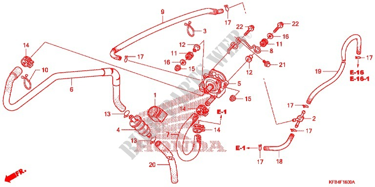 AIR SUCTION VALVE for Honda CRF 230 L 2009 # HONDA ... on honda maintenance log, honda alternator diagram, honda design diagram, honda motorcycles schematics, honda lower unit diagram, honda atc carb diagram, honda parts diagram, honda sensors diagram, honda atv diagrams, honda schematic diagram, honda ignition diagram, honda thermostat diagram, honda clutch diagram,