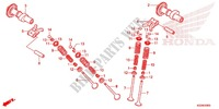 CAMSHAFT for Honda CRF 250 L RED 2013