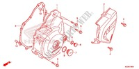 LEFT CRANKCASE COVER   ALTERNATOR (2) for Honda CRF 250 L RED 2013