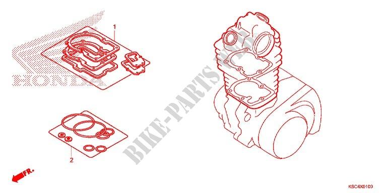Honda OEM Part 06113-KRN-710