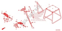 STEP/STAND Frame 450 honda-motorcycle CRF 2017 F_30