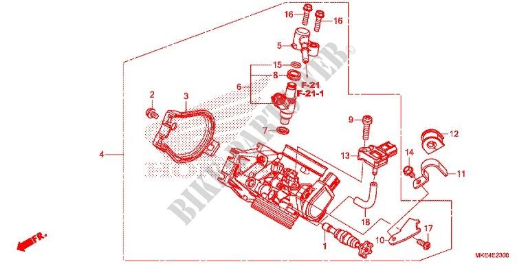 Throttle Body Nps508 9 Engine Crf450rh 2017 Crf 450 Moto Honda. Honda Moto 450 Crf 2017 Crf450rh Engine Throttle Body Nps5089. Honda. Honda Crf 450 Engine Diagram At Scoala.co