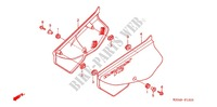 AIR CLEANER/SIDE COVER Frame 200 honda-motorcycle CTX 2004 F_15