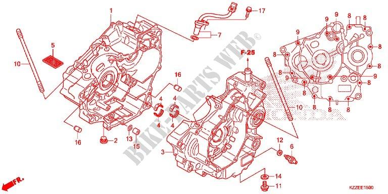 Crankcase Oil Pump Engine Crf250rlah 2017 Crf 250 Moto Honda. Honda Moto 250 Crf 2017 Crf250rlah Engine Crankcaseoil Pump. Honda. Honda Crf 250 Engine Diagram At Scoala.co