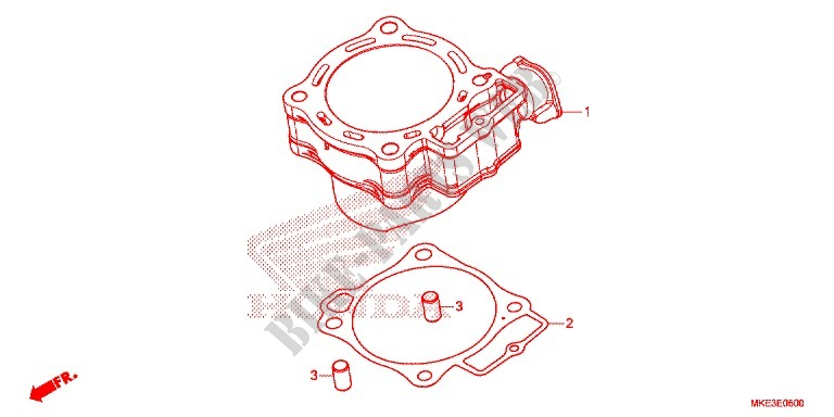 Rear Brake Master Cylinder Engine Crf450rh 2017 Crf 450 Moto Honda. Honda Moto 450 Crf 2017 Crf450rh Engine Rear Brake Master Cylinder. Honda. Honda Crf 450 Engine Diagram At Scoala.co