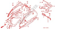 BODY COVER/REAR CARRIER Frame 50 honda-motorcycle LEAD 1993 F_16