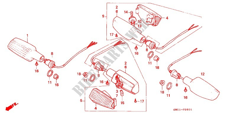 Wiring Diagram Honda Bros 400