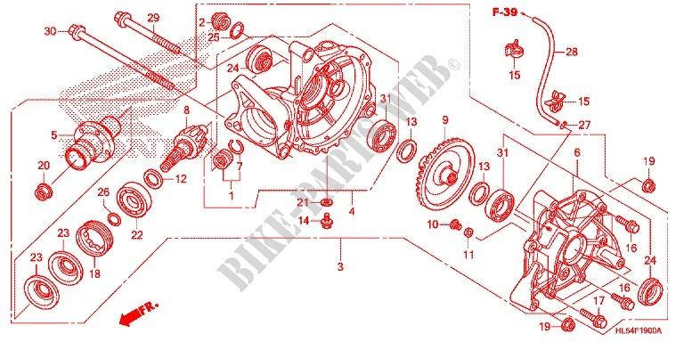 Honda Pioneer Parts Diagram