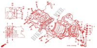 CRANKCASE/OIL PUMP Engine 250 honda-motorcycle NSR 1992 E_08