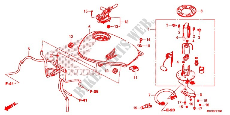 SOCKET HONDA 90116-MGZ-J00 BOLT 8X22