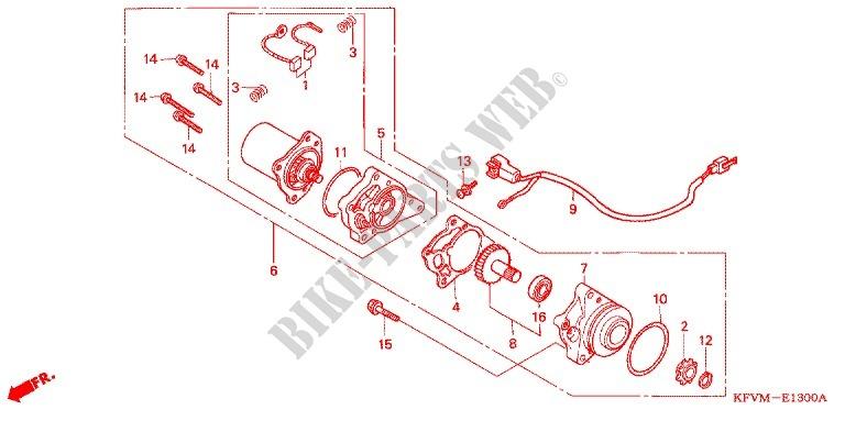 Honda Moto 100 C100 2012 C100mdma Engine Starting Motor: Honda Dream 100cc Engine Diagram At Shintaries.co