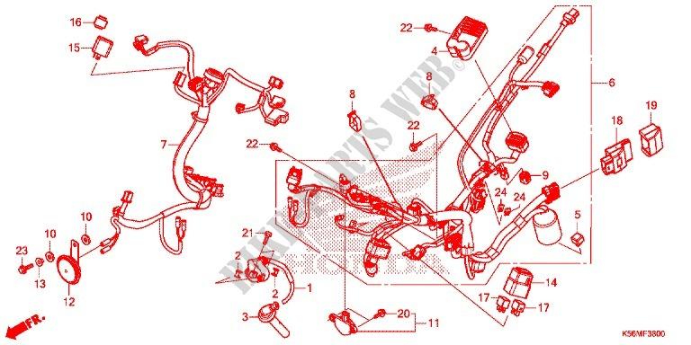 Honda 150 Wiring Diagram - Wiring Diagram Value on
