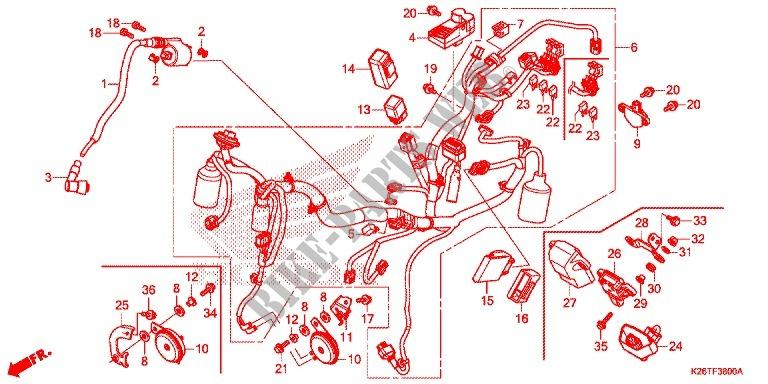 Honda Msx 125 Wiring Diagram