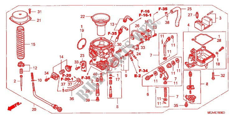 2005 Honda Vtx 1300 R Wiring Diagram