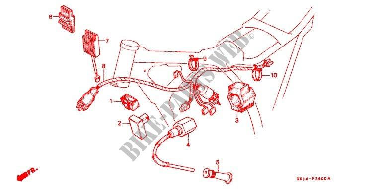 1987 Honda Xlr 250 Wiring Schematic