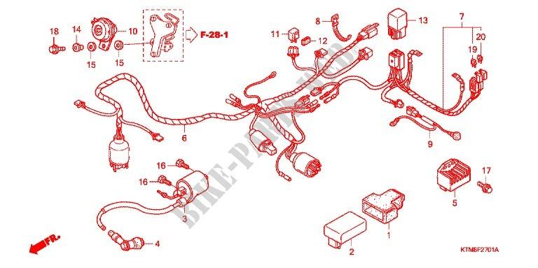WIRE HARNESS (2) for Honda WAVE 125 S, Kick start 2009 ... on honda gl1200 wiring-diagram, honda motorcycle salvage yards, honda cb750 wiring diagram, honda 90 ignition wiring diagram, honda goldwing wiring diagram, honda motorcycle wiring harness, honda shadow wiring-diagram, honda motorcycle diagrams, honda odyssey wiring schematics, honda 50cc wiring-diagram, honda wiring diagrams automotive, honda chopper wiring diagram, honda wiring harness diagram, honda cb750 ignition schematics, honda fury wiring diagram, honda s65 wiring diagram, honda goldwing parts diagram, honda 70 wiring-diagram, honda motorcycle wiring color codes, chopper schematics,