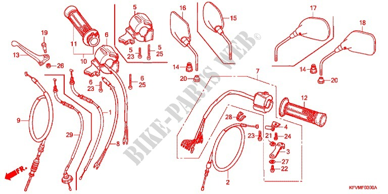 Honda Handle Switch Diagram - Block And Schematic Diagrams •