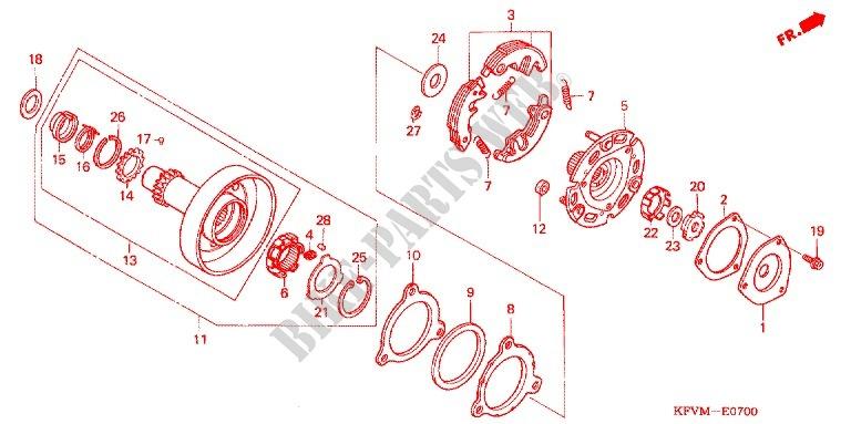 Honda Moto 100 C100 2011 C100mbma Engine One Way Clutch: Honda Dream 100cc Engine Diagram At Shintaries.co