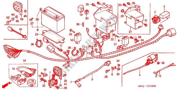 honda 50 honda wiring harness wiring diagram honda 70r dirt bike xr70 wiring diagram #14