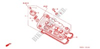 CYLINDER HEAD COVER for Honda CB 599 HORNET 2004