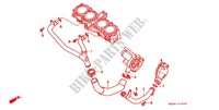 WATER PIPE for Honda CBR 1000 F 1993