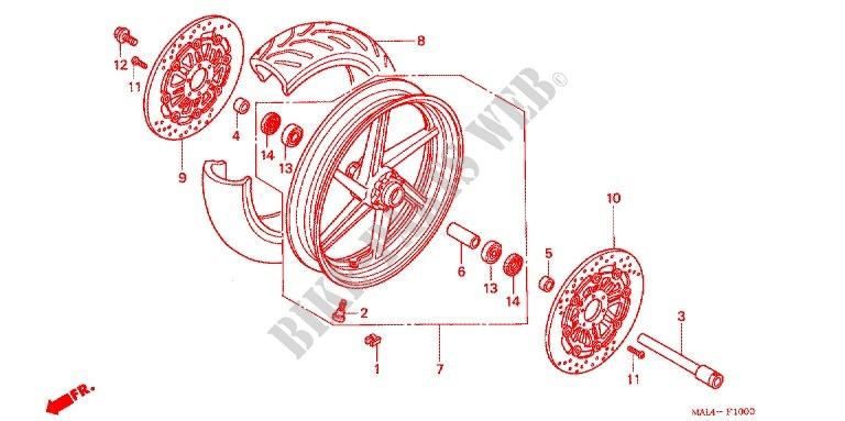 96 Honda Cbr 600 Wiring Diagram