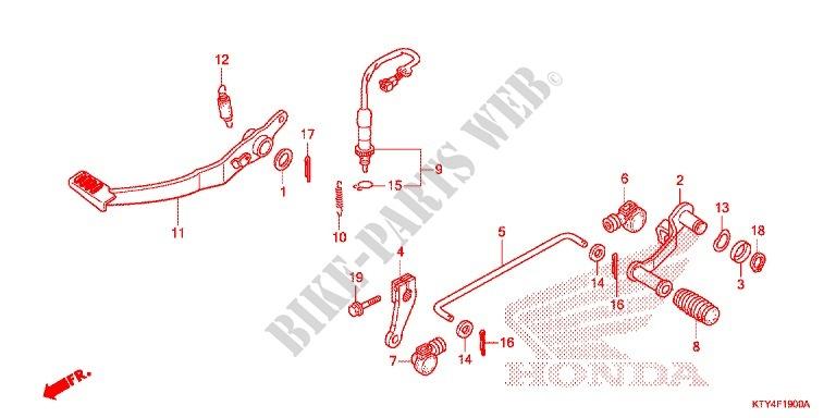 New Front Brake Light Switch Honda CBR 125 RW 2011