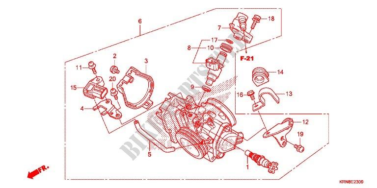 Throttle Body Nps508 9 Engine Crf250rg 2016 Crf 250 Moto Honda. Honda Moto 250 Crf 2016 Crf250rg Engine Throttle Body Nps5089. Honda. Honda Crf 250 Engine Diagram At Scoala.co