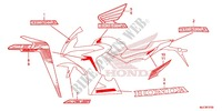 STICKERS (4) for Honda CBR 650 F ABS 2018
