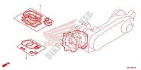 GASKET KIT A for Honda 50 METROPOLITAN II 2008