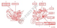 CAUTION LABEL (1) Frame 700 honda-motorcycle NC 2015 F_43