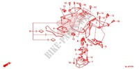 CENTER COVER/BODY COVER Frame 700 honda-motorcycle NC 2015 F_37