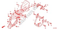 FRONT COWL Frame 700 honda-motorcycle NC 2015 F_39