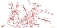 HANDLE PIPE/TOP BRIDGE (2) Frame 700 honda-motorcycle NC 2015 F_06